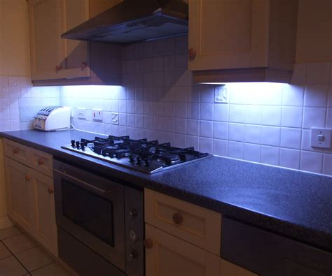 kitchen led light how to fit led kitchen lights with fade effect 7 steps