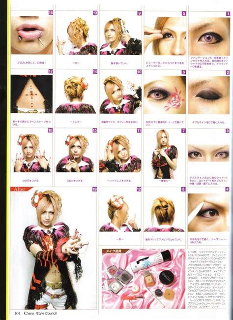 tutorial makeup visual kei fashion in japan visual kei goth lolita makeup and hair