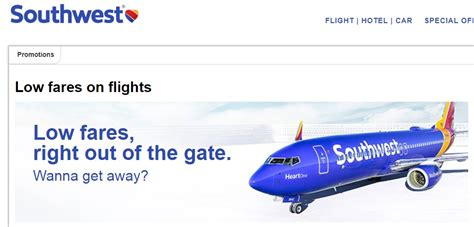 southwest sale some hot deals around the net frequent miler