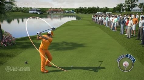 golf swing game tiger woods pga tour 13 announcement and first feature