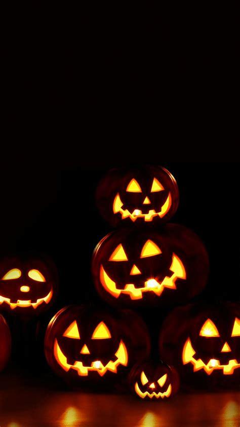 wallpaper for iphone 6 halloween 720x1280 halloween pumpkin lights moto phones wallpaper hd