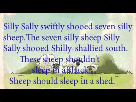 modernsauce she sheds seashells by the she shore english tongue twister poem silly sally youtube
