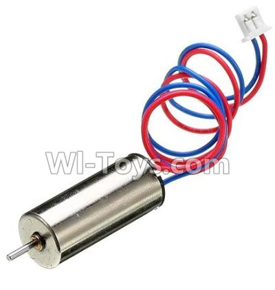 Wl V303 Motor Clock Wise Cw cheerson cx 33w cx 33s parts 08 01 clockwise rotating motor with and blue wire 1pcs cw