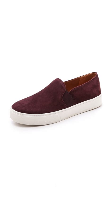 on sneakers vince blair slip on sneakers in lyst