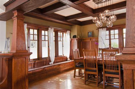craftsman dining room bali construction craftsman dining room san