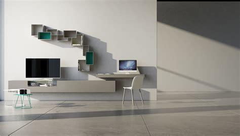 pareti attrezzate con scrivania parete attrezzata con scrivania soggiorno con scrivania