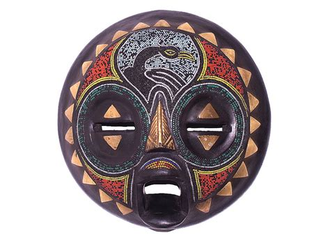 african masks ceremonial mask beaded mask from ghana now at craft monta