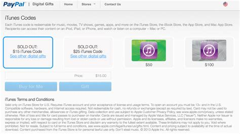 Itunes Gift Card Paypal - paypal opens digital gift store debuts with itunes gift cards 9to5mac