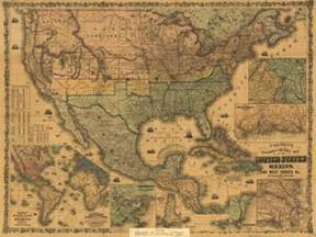 us map history u s mexico and west indies map 1862