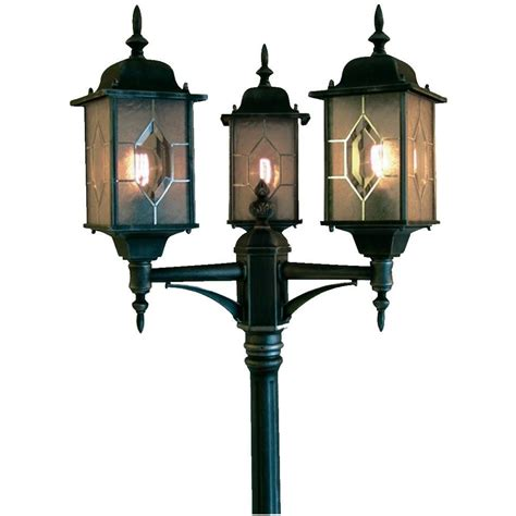 Commercial L Post commercial l posts outdoor lighting traditional exterior