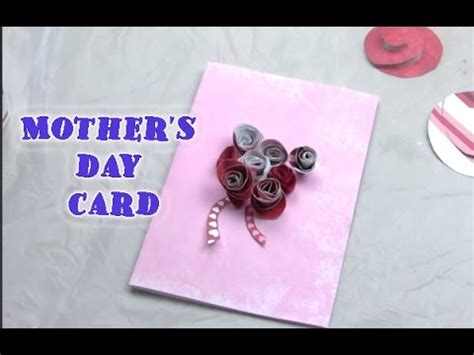 how to make a mothers day card how to make 3d flower card s day cards for