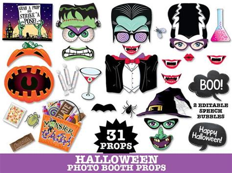 printable monster photo booth props 1000 ideas about halloween photo booths on pinterest