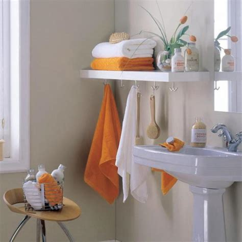 Bathroom Towel Ideas by Big Idea For Small Bathroom Storage Design 971 Latest