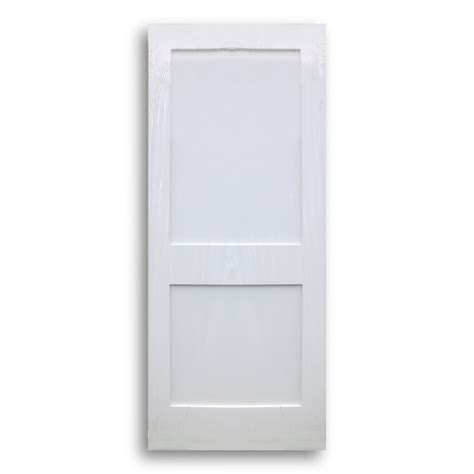 shaker doors home shaker style primed interior door 34inch x 80inch