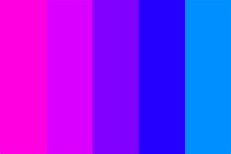 pink purple color pink 2 blue transitions 1 color palette blue