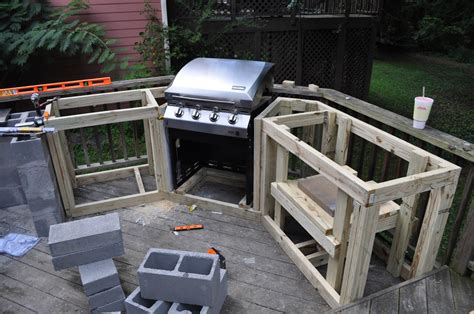 how to build an outdoor kitchen with wood frame with how to build an outdoor kitchen simple tips