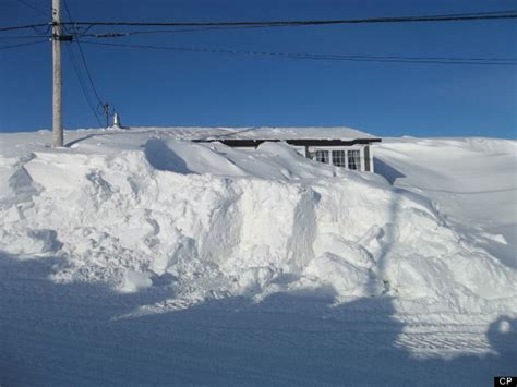 House Floor Plans Ontario newfoundland couple abandons house completely buried in