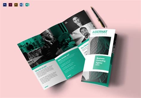 foldable brochure template foldable brochure template free tri fold brochure