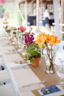 Summer Wedding Decorations by Picture Of Summer Wedding Table Decor Ideas