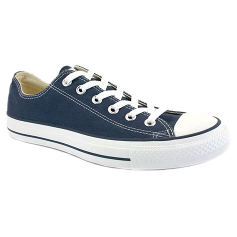 all shoes converse all chuck ox navy unisex trainers