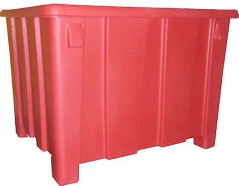 poly storage containers bulk storage container material handling containers