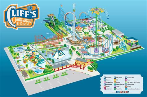 Amusement Park Map My Blog South Park Amusement Park