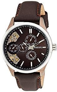 Fossil Me1123 fossil s me1123 analog display japanese automatic brown fossil watches