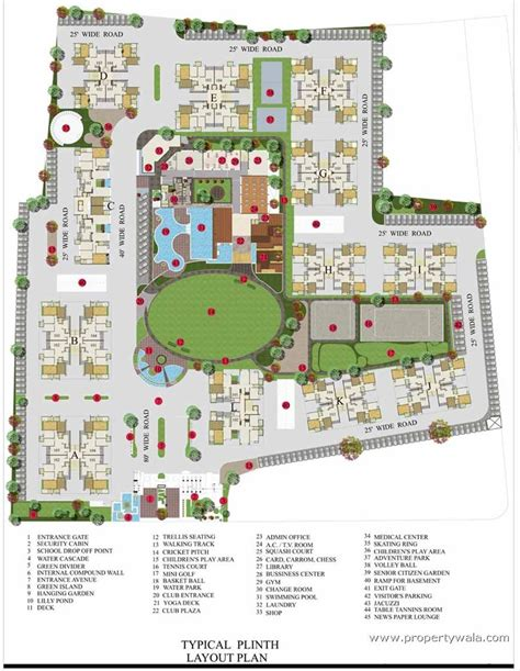 layout plot plan iscon platinum bopal ahmedabad apartment flat