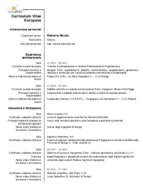 europass cv exle cv template europass instructions image collections