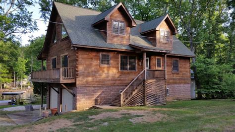 log cabin on lake murray 3 br vacation cabin for rent in