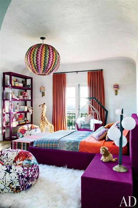 Purple And Orange Bedroom Decor by Pink Wooden Ladder Purple And Grey Bedroom Ideas Fur Rugs
