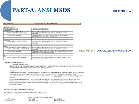 sections of msds msds section 8 28 images concrete crack repair 13400