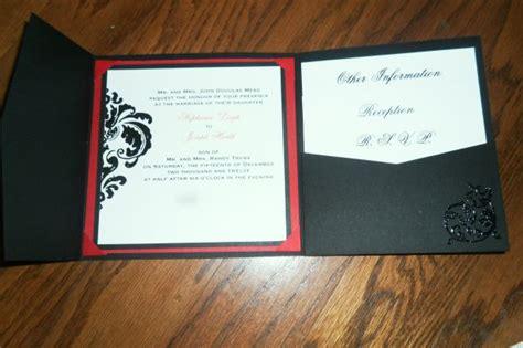 our diy tri fold invitations weddingbee photo gallery