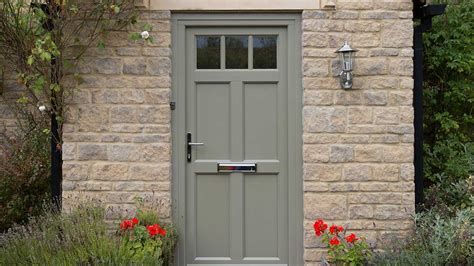 Front Doors Cottage Doors Evolution Windows Olive Green Front Door
