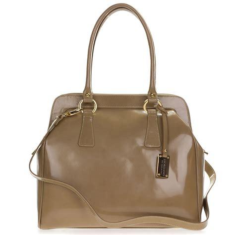 Giordano Original Leather giordano italian made beige glazed genuine leather large