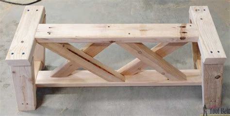 x bench diy how to build an outdoor bench with free plans