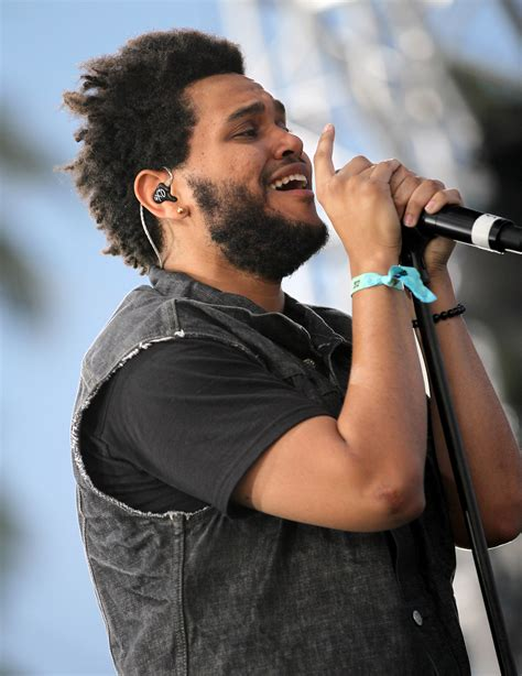 the weekends new haircut the weeknd on drake i gave up almost half my album its