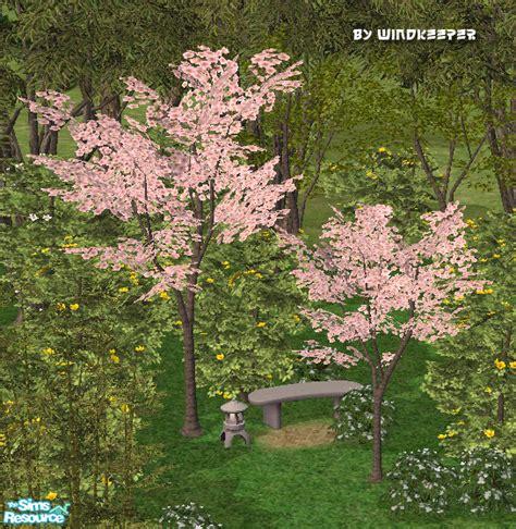 sims 4 cherry tree windkeeper s cherry blossom tree