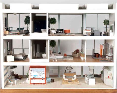 institute dollhouses modern mini houses