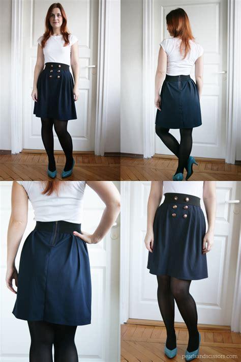 diy simple pleated skirt
