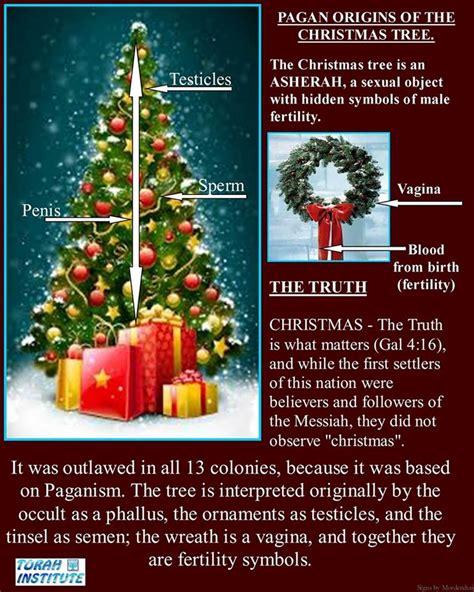 pagan origin of christmas tree christmas nimrod sun king means