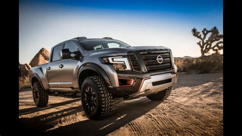 nissan titan warrior concept makes world debut at the 2016