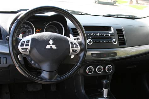 2008 Mitsubishi Lancer Interior by 2008 Mitsubishi Lancer Interior Pictures Cargurus