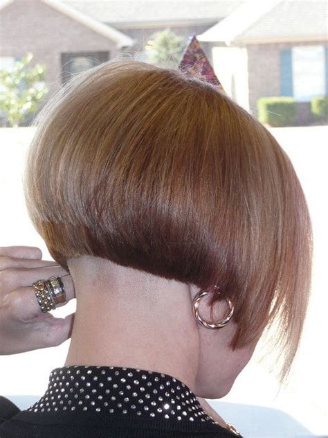 bobbed haircut with shingled npae short graduated bob with shaved nape 2 of 2 flickr