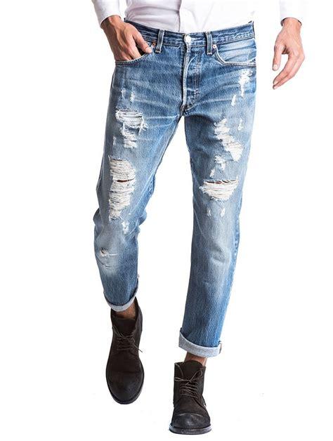 Kaos Levis 501tshirtt Shirt Levis 501 s clothing vintage levi s 501 distressed levi s x nohow nohow style