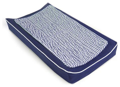 Change Table Pad Cover Changing Pad Cover And Topper Cobalt Blue Contemporary Changing Tables By Oilo