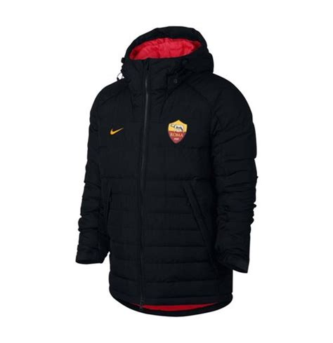 Jaket As Roma Black 2017 2018 as roma nike fill jacket black for only 163