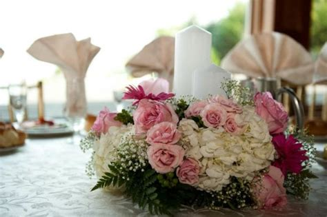 candle flower centerpieces candles and flowers centerpiece weddingbee photo gallery