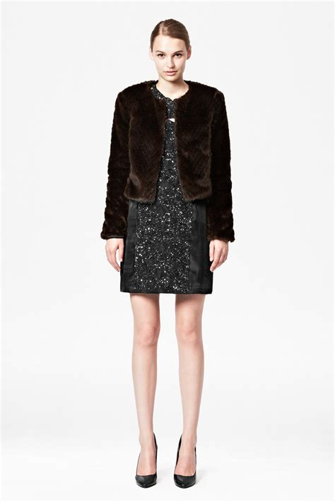 Cropped Fur Jackets by S Jackets And Coats Leather Jackets Coats