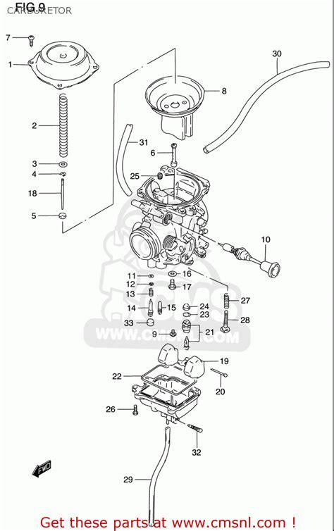 Suzuki Dr200 Parts Suzuki Dr200 Se 1996 2000 Usa Carburetor Schematic